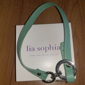 NWT Lia Sophia Wrap Star (Sea Green) 6.5 - 7.5""